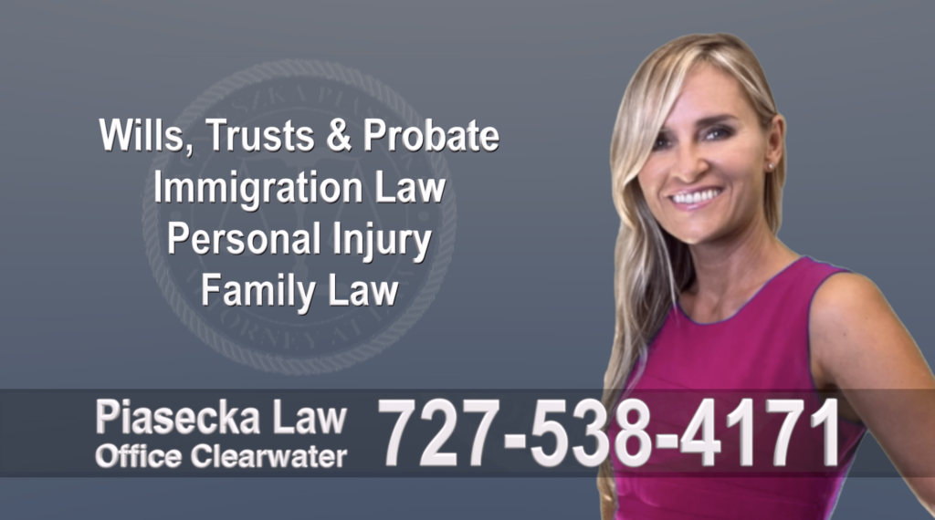 Tampa, Polish, Lawyer, Attorney, Florida, Wills, Trusts, Probate, Immigration, Personal Injury, Family Law, Agnieszka, Piasecka, Aga.