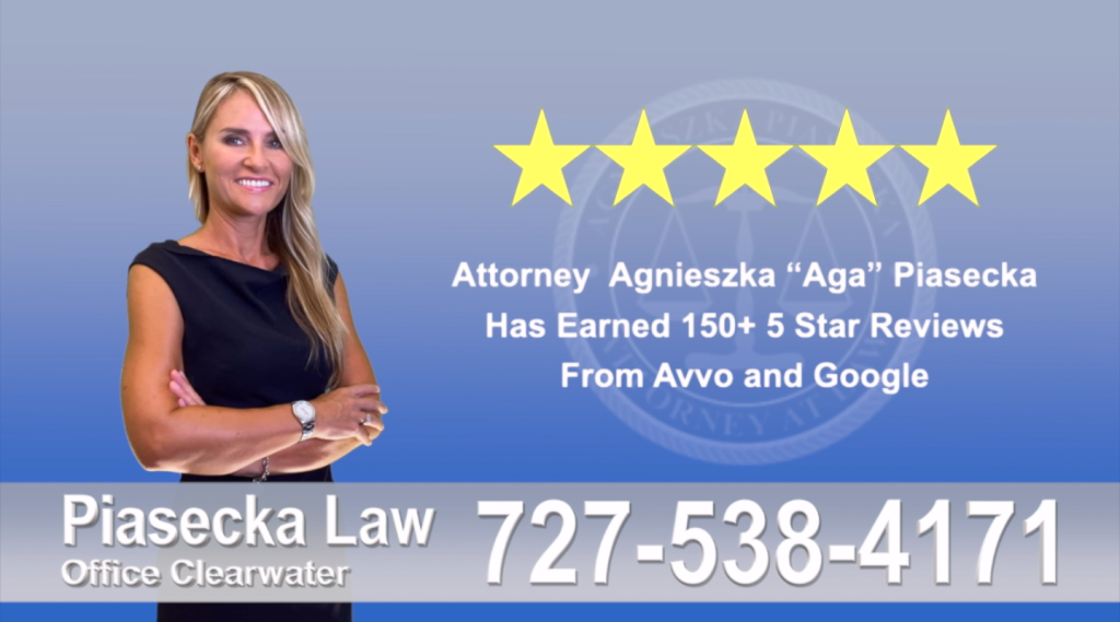 Agnieszka, Aga, Piasecka, Client, reviews, avvo, google, five star, 5-star