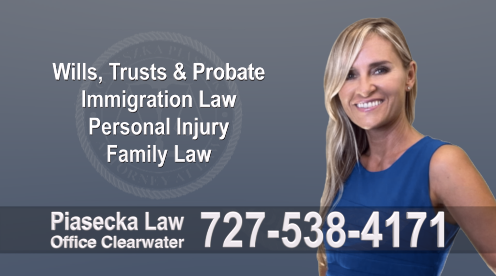 Best Tampa, Polish, Lawyer, Attorney, Florida, Wills, Trusts, Probate, Immigration, Personal Injury, Family Law, Agnieszka, Piasecka, Aga