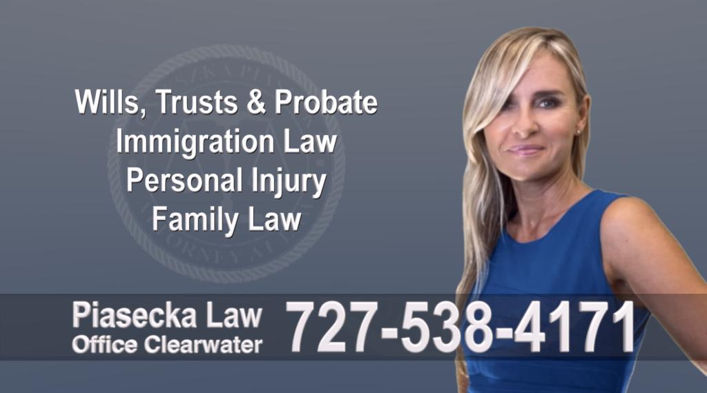 Tampa, Polish, Lawyer, Attorney, Florida, Wills, Trusts, Probate, Immigration, Personal Injury, Family Law, Agnieszka, Piasecka, Aga 1