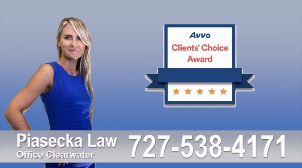 Tampa, Polish, Attorney, lawyer, clients, reviews, clients' choice, avvo, award